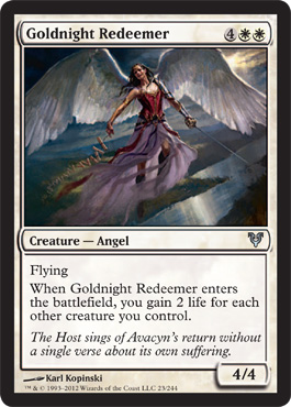 Goldnight Redeemer - Foil