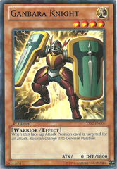 Ganbara Knight - YS12-EN005 - Common - 1st Edition on Channel Fireball
