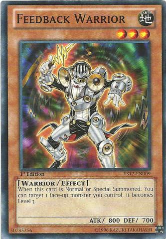 Feedback Warrior - YS12-EN009 - Common - 1st Edition