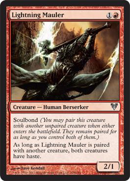 Lightning Mauler - Foil