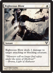 Righteous Blow - Foil