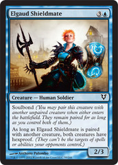 Elgaud Shieldmate - Foil on Channel Fireball