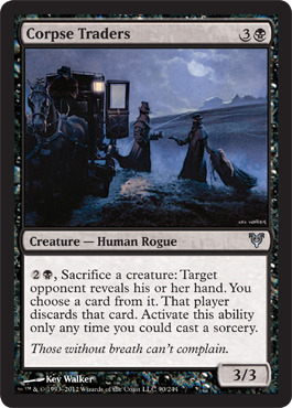 Corpse Traders - Foil