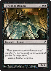 Renegade Demon - Foil
