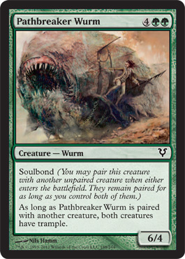 Pathbreaker Wurm - Foil