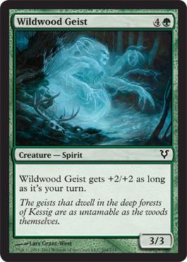 Wildwood Geist - Foil