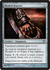 Bladed Bracers - Foil on Channel Fireball