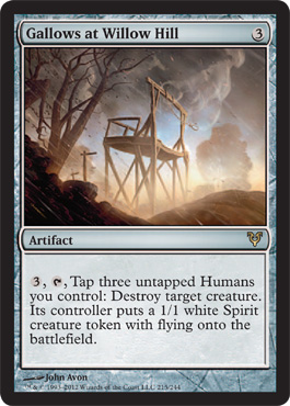 Gallows at Willow Hill - Foil