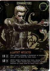 Resident Evil Deck Building Game: Albert Wesker Foil Promo