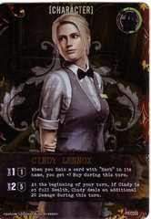 Resident Evil Deck Building Game: Cindy Lennox Promo
