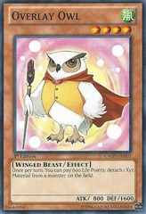 Overlay Owl - GAOV-EN003 - Common - 1st Edition