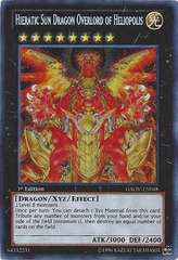 Hieratic Sun Dragon Overlord of Heliopolis - GAOV-EN048 - Secret Rare - 1st Edition