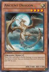 Ancient Dragon - GAOV-EN081 - Rare - 1st Edition