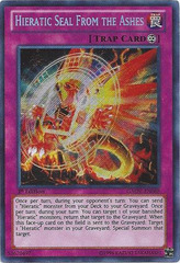 Hieratic Seal From the Ashes - GAOV-EN088 - Secret Rare - 1st Edition