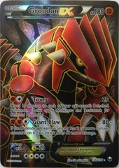 Groudon-EX - 106/108 - Full Art Ultra Rare