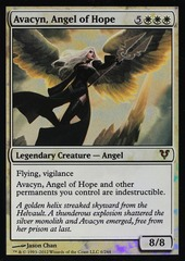 OVERSIZED Avacyn, Angel of Hope Foil Helvault Promo
