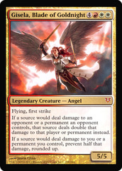 OVERSIZED Gisela, Blade of Goldnight Foil Helvault Promo