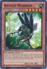 Backup Warrior - BP01-EN159 - Common - 1st Edition