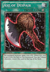 Axe of Despair - BP01-EN067 - Starfoil Rare - 1st Edition