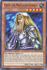 Freed the Matchless General - BP01-EN123 - Starfoil Rare - 1st Edition