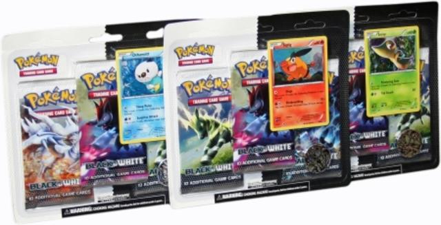 Black and White Booster Pack Blister (3 Packs)