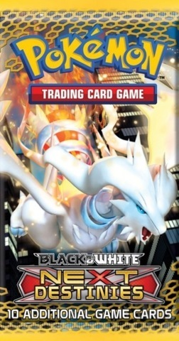 Pokemon Black & White BW4 Next Destinies Booster Pack