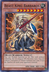 Beast King Barbaros - BP01-EN148 - Common - 1st Edition