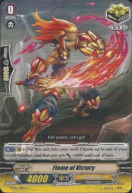 Flame of Victory - BT06/088EN - C