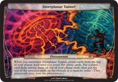 Oversized - Interplanar Tunnel
