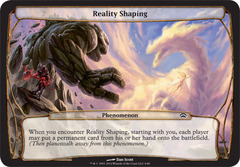 Reality Shaping on Channel Fireball