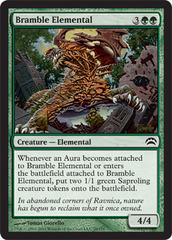 Bramble Elemental on Channel Fireball