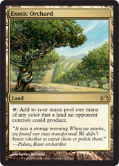 Exotic Orchard on Channel Fireball