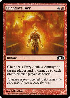 Chandras Fury - Foil
