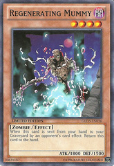 Regenerating Mummy - GLD5-EN016 - Common - Limited Edition