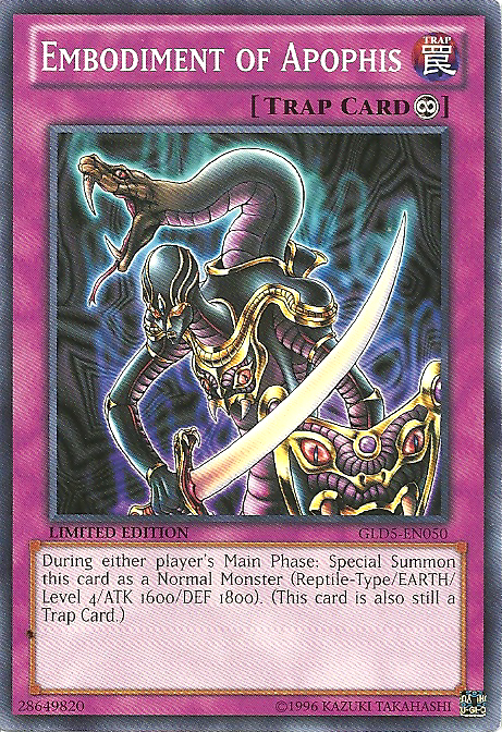 Embodiment of Apophis - GLD5-EN050 - Common - Limited Edition