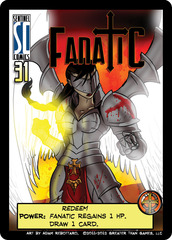 Sentinels of the Multiverse: Redeemer Fanatic Promo Card