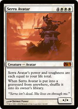 Serra Avatar - Foil