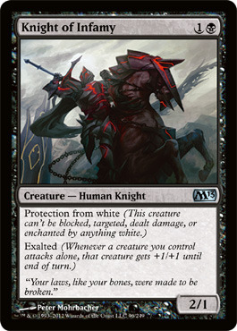 Knight of Infamy - Foil