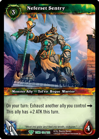 WOW WARCRAFT TCG TOMB OF THE FORGOTTEN AARON GOODCHILDE X 4
