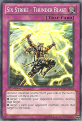 Six Strike - Thunder Blast - SDWA-EN039 - Common - 1st Edition on Channel Fireball