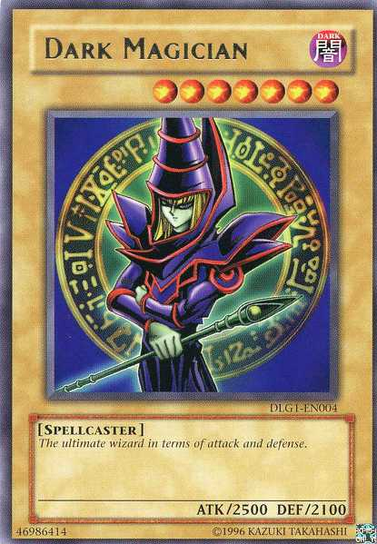 Dark Magician - DLG1-EN004 - Rare - Unlimited Edition