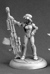 Sarah Blitzer, IMEF Sniper