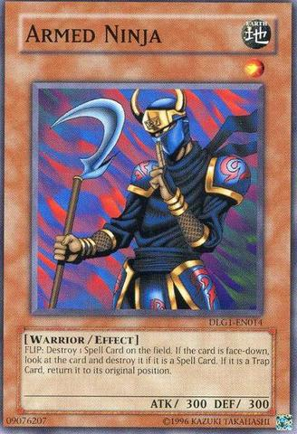 Armed Ninja - DLG1-EN014 - Common - Unlimited Edition