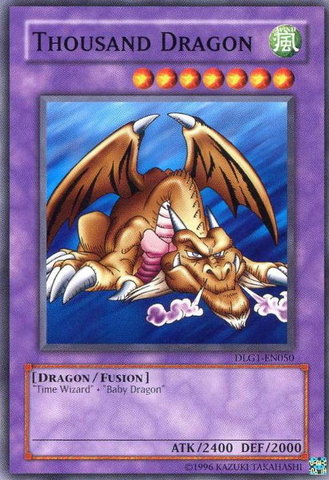 Thousand Dragon - DLG1-EN050 - Common - Unlimited Edition