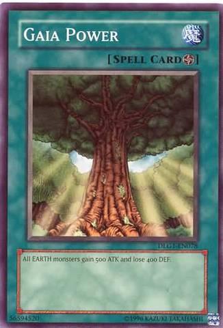 Gaia Power - DLG1-EN078 - Common - Unlimited Edition
