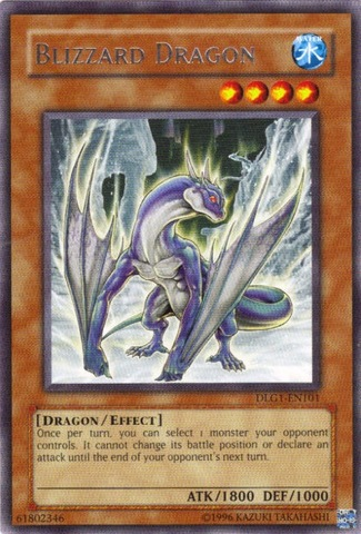 Blizzard Dragon - DLG1-EN101 - Rare - Unlimited Edition