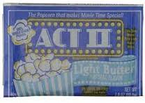 ACT 2 Light Butter Popcorn Singles 36ct