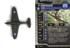 P-40B Rookie