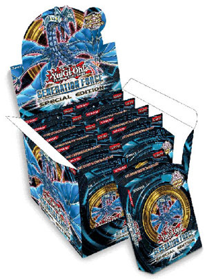 Yu-Gi-Oh Generation Force Special Edition Display Box