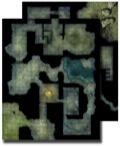 Pathfinder GameMastery Flip-Mat: Haunted Dungeon